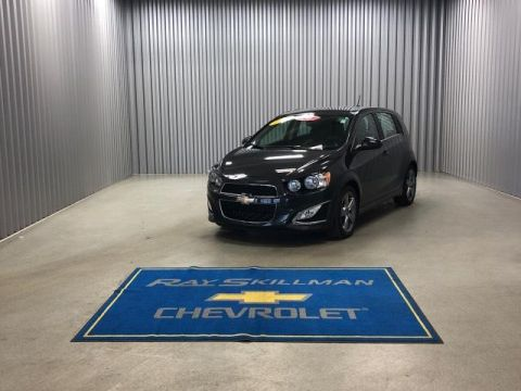 Pre-Owned 2015 Chevrolet Sonic 5dr HB Manual RS