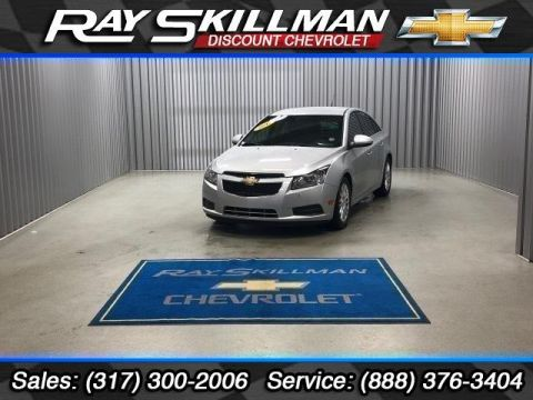 Pre-Owned 2012 Chevrolet Cruze 4dr Sdn ECO