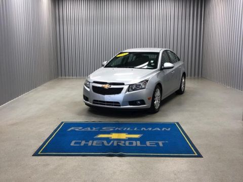Pre-Owned 2011 Chevrolet Cruze 4dr Sdn ECO w/1XF