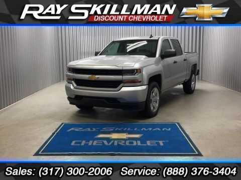 New 2018 Chevrolet Silverado 1500 Silverado Custom