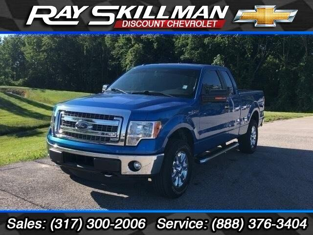 Pre-Owned 2014 Ford F-150 4WD SuperCab 145 XLT