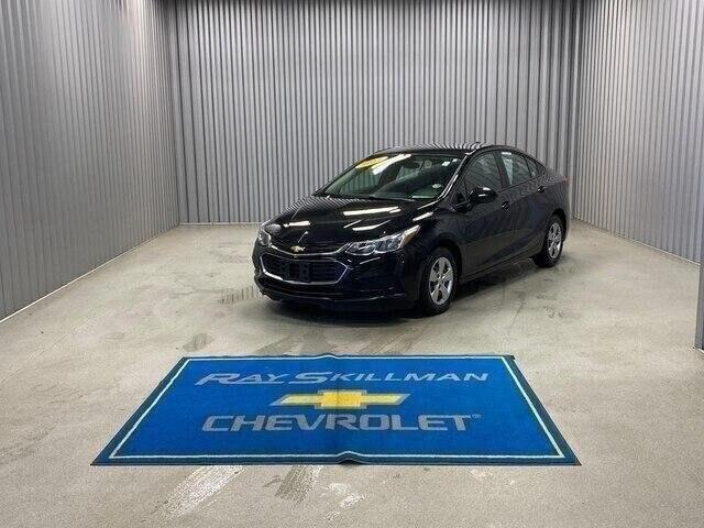 Pre-Owned 2017 Chevrolet Cruze 4dr Sdn 1.4L LS w/1SB