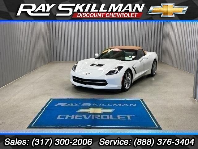 Pre-Owned 2015 Chevrolet Corvette 2dr Stingray Conv w/3LT