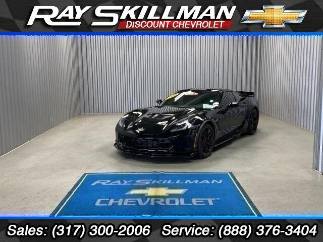Pre-Owned 2018 Chevrolet Corvette 2dr Z06 Cpe w/3LZ