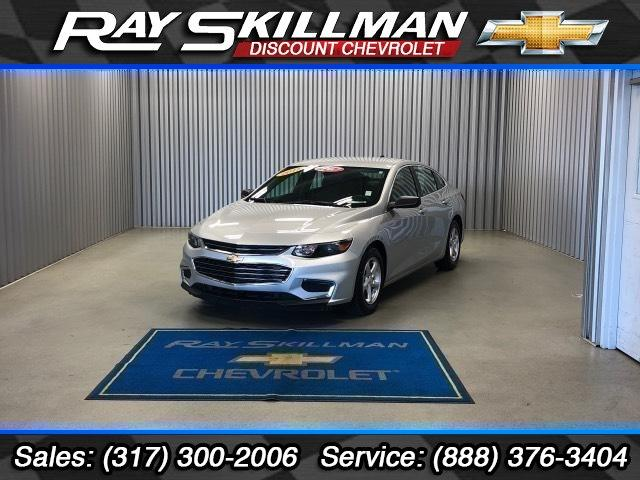 Pre-Owned 2017 Chevrolet Malibu 4dr Sdn LS w/1LS