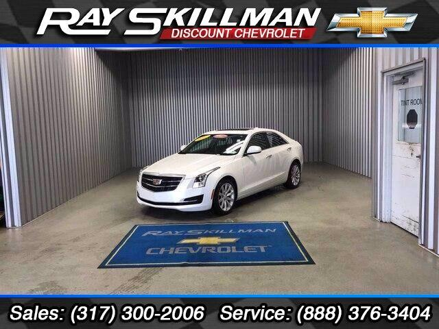 Pre-Owned 2017 Cadillac ATS 4dr Sdn 2.0L AWD