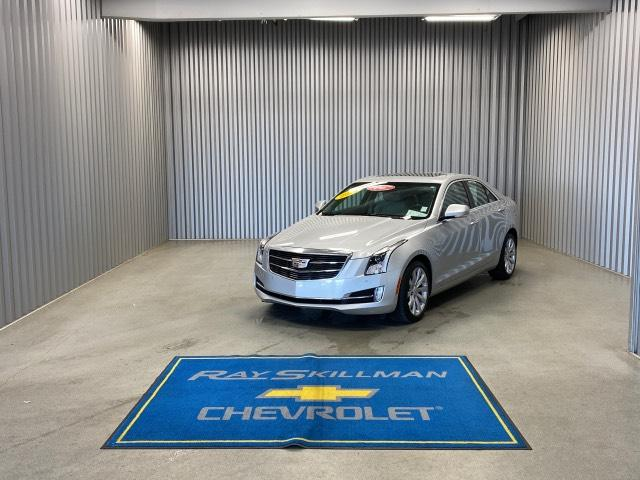Pre-Owned 2018 Cadillac ATS 4dr Sdn 3.6L Premium Luxury AWD
