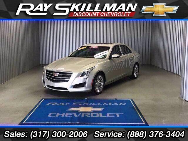 Pre-Owned 2016 Cadillac CTS 4dr Sdn 3.6L Luxury Collection AWD