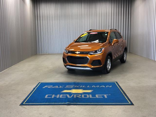 Pre-Owned 2017 Chevrolet Trax AWD 4dr LT