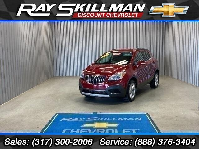 Pre-Owned 2016 Buick Encore AWD 4dr