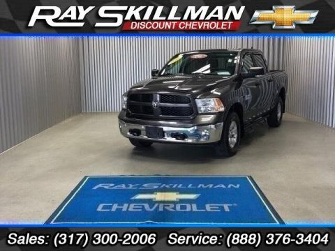 Pre-Owned 2016 Ram 1500 4WD Crew Cab 140.5 Outdoorsman