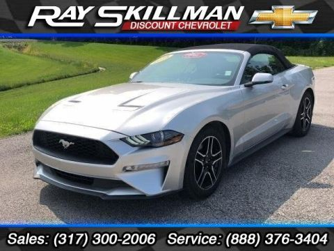 Pre-Owned 2018 Ford Mustang EcoBoost Convertible