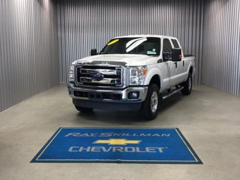 Pre-Owned 2013 Ford Super Duty F-250 SRW 4WD Crew Cab 156 XLT
