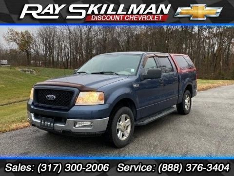 Pre-Owned 2004 Ford F-150 SuperCrew 139 XLT