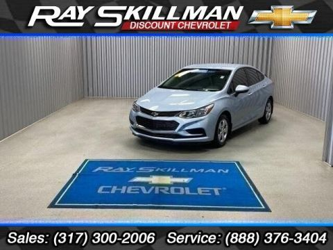 Pre-Owned 2017 Chevrolet Cruze 4dr Sdn 1.4L LS w/1SA