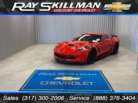 Pre-Owned 2018 Chevrolet Corvette 2dr Z06 Cpe w/2LZ