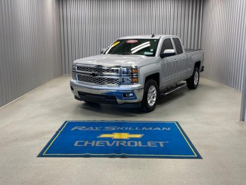 Pre-Owned 2015 Chevrolet Silverado 1500 2WD Double Cab 143.5 LT w/1LT