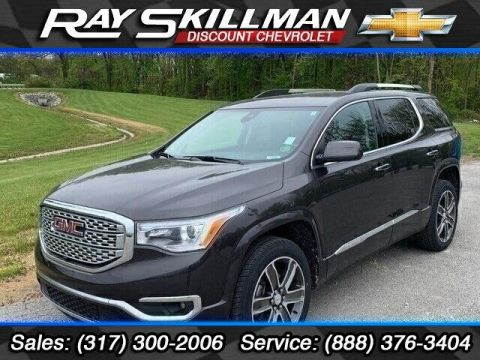 Pre-Owned 2018 GMC Acadia FWD 4dr Denali