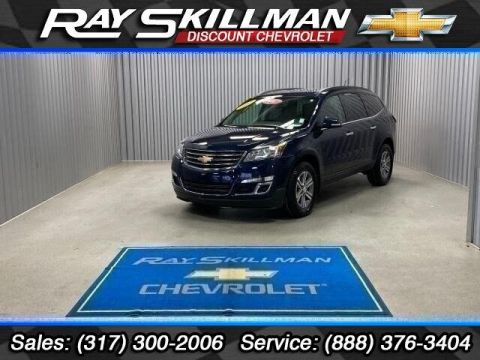 Pre-Owned 2017 Chevrolet Traverse FWD 4dr LT w/1LT