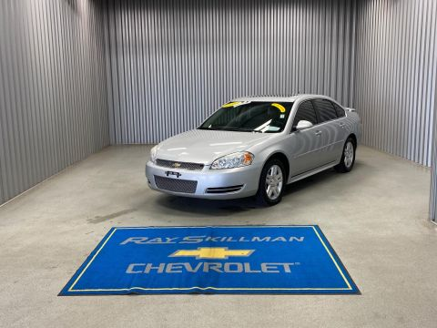 Pre-Owned 2014 Chevrolet Impala Limited 4dr Sdn LT